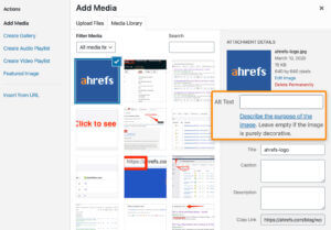 Image ALT Text for On Page SEO factor